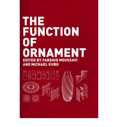 The function of ornament farshid moussavi