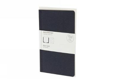 Moleskine Note Card with Envelope - Pocket Navy Blue