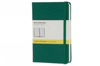 Moleskine Oxide Green Pocket Square Notebook Hard