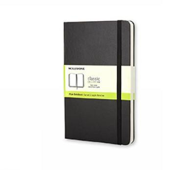 Moleskine Large Plain Notebook