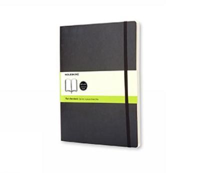 Moleskine Soft Xlarge Plain Notebook