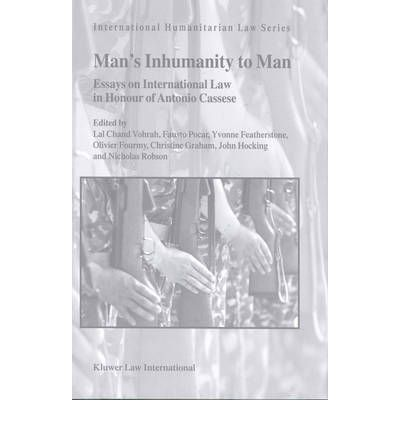proof of mans inhumanity essay Man's inhumanity to man, huckleberry finn by mark twain essay by toof_75_75, september 2002 it's man's inhumanity to man that effects many aspects of this.