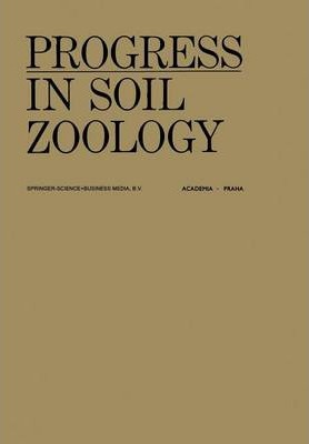 progress in soil zoology j vanek 9789401019354