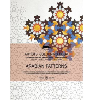 Arabian Patterns: Artists' Colouring Book