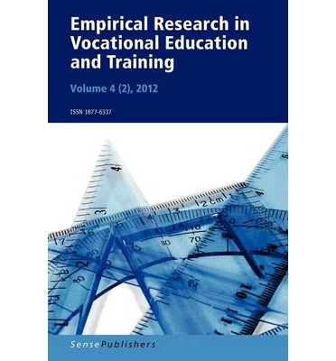 """Rapidshare download free books Empirical Research in Vocational Education and Training, Vol. 42 2012 by Stefan C Wolter""""  PDF FB2 iBook"""