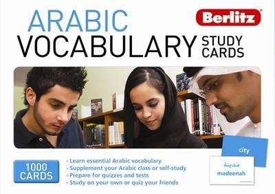 Arabic Berlitz Vocabulary Study Cards