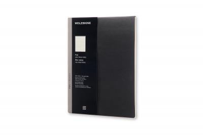 Moleskine Pro Collection Pad, Letter, Black, Soft Cover (8.5 X 11)
