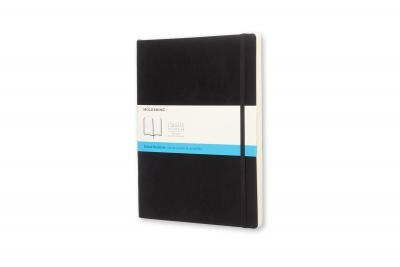 Moleskine Classic Notebook, Extra Large, Dotted, Black, Soft Cover (7.5 X 10)