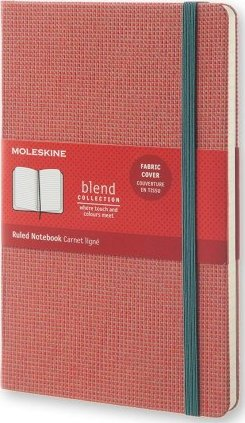 Moleskine Blend Limited Collection Large Ruled Red