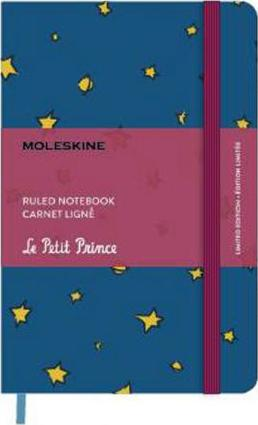 Petit Prince Limited Edition Pocket Ruled Antwerp Blue - Stars & Planets