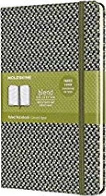 Moleskine Blend Limited Collection Notebook, Large, Ruled, Green (5 X 8.25)
