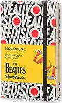 Moleskine the Beatles Limited Edition Notebook Pocket Ruled Black - All You Need Is Love