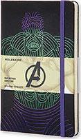 Moleskine the Avengers Limited Edition Notebook, Large, Ruled, Black, Hulk, Hard Cover (5 X 8.25)