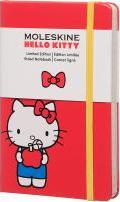 Moleskine Hello Kitty Limited Edition Notebook, Pocket, Ruled, Red, Hard Cover (3.5 X 5.5)