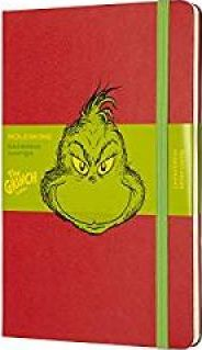 Moleskine Limited Edition Dr. Seuss, Large, Ruled, Red, Hard Cover (5 X 8.25)