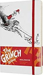 Moleskine Limited Edition Dr. Seuss, Large, Ruled, White, Hard Cover (5 X 8.25)