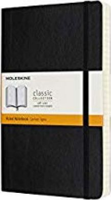 Moleskine Notebook, Expanded Large, Ruled, Black, Soft Cover (5 X 8.25)
