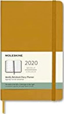 Moleskine 2020 Weekly Planner, 12m, Large, Ripe Yellow, Hard Cover (5 X 8.25)