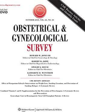 Sj Obstet & Gynecol Survey