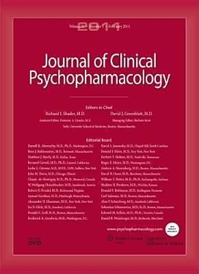 Sj Clinical Psychopharmacology