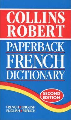 Collins-Robert Paperback French Dictionary