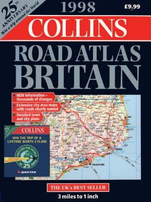 Collins Road Atlas: Britain: 1998