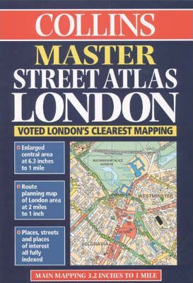 Master Street Atlas London