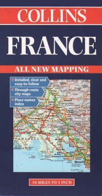 Collins France Road Map
