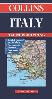 Collins Italy Road Map