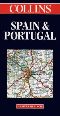 Collins Spain and Portugal Road Map