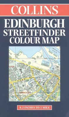 Collins Edinburgh Streetfinder Colour Map