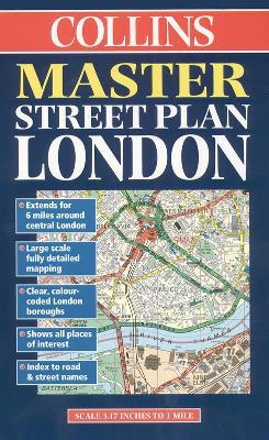 Collins London Master Street Plan