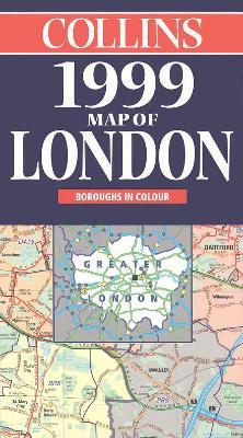 Collins Map of London 1999