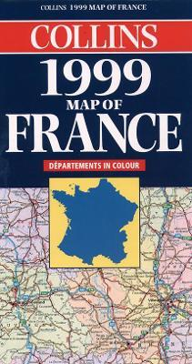 Map of France 1999