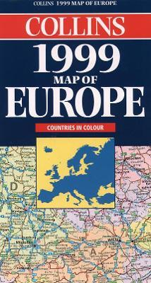 Map of Europe 1999