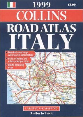 Collins Road Atlas: Italy: 1999