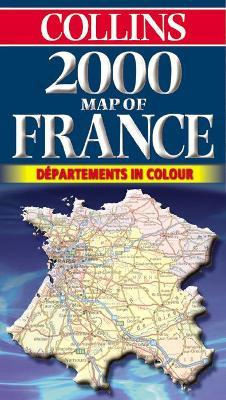 Map of France 2000