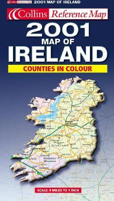 Map of Ireland 2001