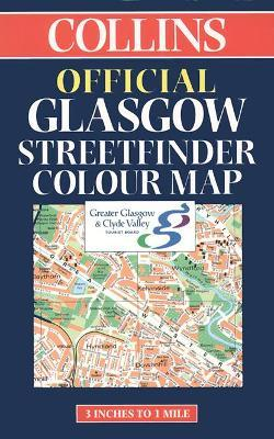 Official Glasgow Streetfinder Colour Map