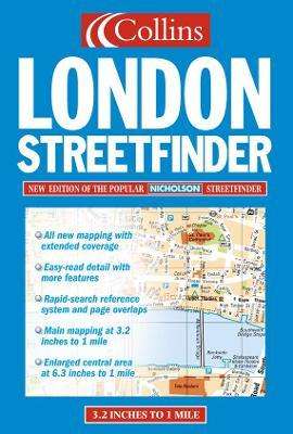 Collins London Streetfinder Atlas