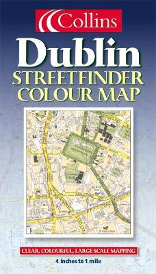 Collins Dublin Streetfinder Colour Map