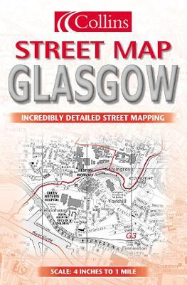 Collins Glasgow Street Map