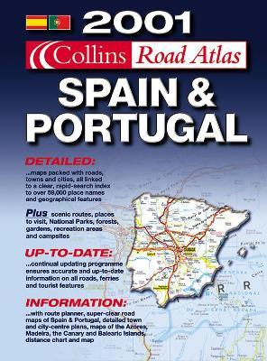 Collins Road Atlas 2001: Spain and Portugal