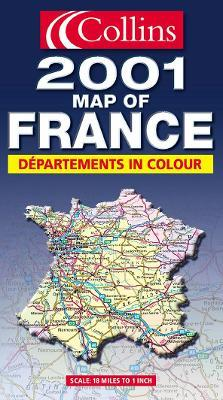 Map of France 2001