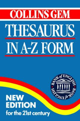 Collins Gem Thesaurus