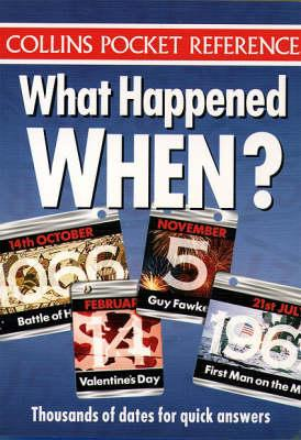 What Happened When?