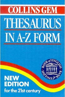 Thesaurus in A-Z Form