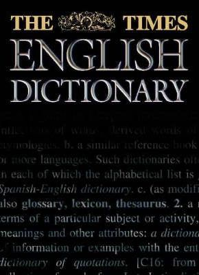 "The ""Times"" English Dictionary"