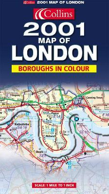Map of London 2001
