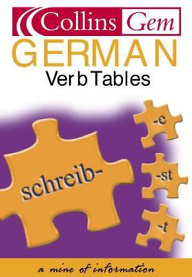 Collins Gem German Verb Tables